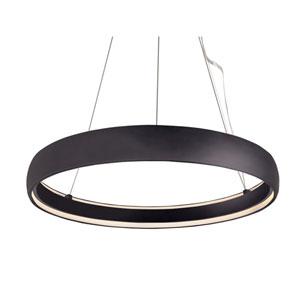 Halo Black 35-Inch One-Light LED Pendant