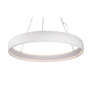 Halo White 35-Inch One-Light LED Pendant