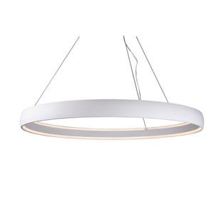 Halo White 53-Inch One-Light LED Pendant