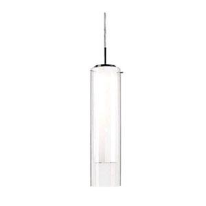 Verona Nickel 19-Inch One-Light LED Mini-Pendant
