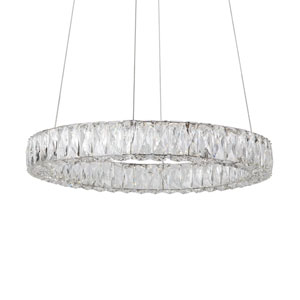 Solaris Chrome 23-Inch One-Light LED Pendant