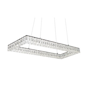 Solaris Chrome 46-Inch One-Light LED Pendant