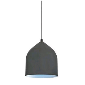 Helena Graphite with Blue Seven-Inch One-Light LED Mini-Pendant