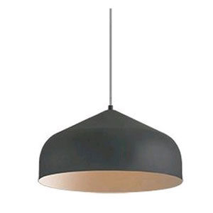 Helena Graphite with Copper 16-Inch One-Light LED Pendant