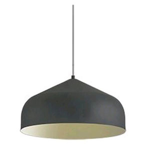 Helena Graphite with Gold 16-Inch One-Light LED Pendant