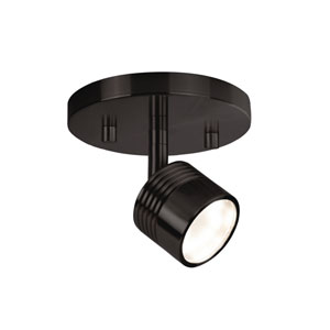 Bronze One-Light LED Track Light