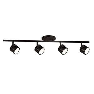 Bronze Four-Light LED Track Light