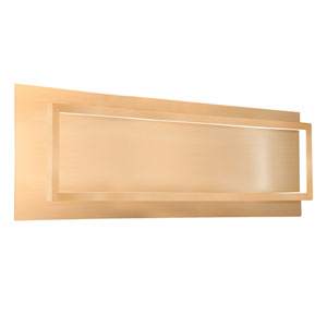 Mondrian Gold 26-Inch One-Light LED Sconce