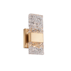 Oslo Gold One-Light LED Sconce