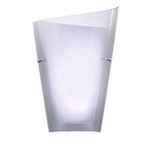 Calla Nine-Inch Smoked One-Light LED Right-Hand Sconce