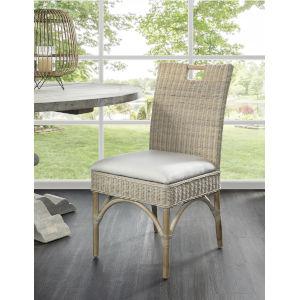 Malio Whitewash Dining Chair