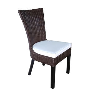 Dominican Brown Outdoor Dining Chair, Set of 2