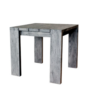 Outdoor Ralph Natural Recycled Teak End Table