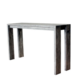 Outdoor Ralph Natural Recycled Teak Console Table
