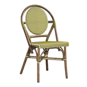 Paris Bistro Green Outdoor Dining Chair