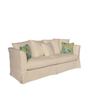 Sunset Beach Canvas Flax Sofa