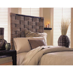 Abaca Weave Queen Headboard