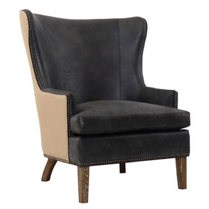 Ocean Eco Leather Club Lounge Chair