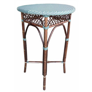Paris Bistro Blue Bar Table