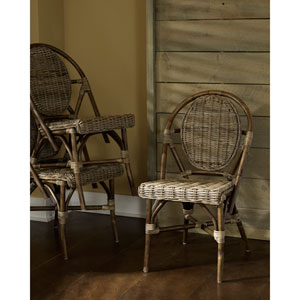 Paris Bistro Kubu Chair- Set of 2