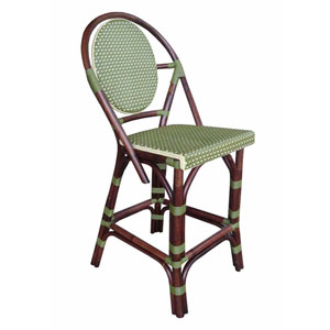 Paris Bistro Green Counterstool