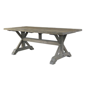 Salvaged Wood 84-Inch Dining Table