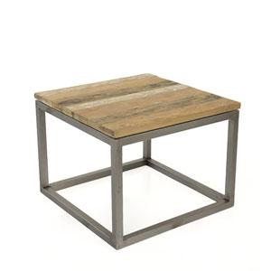 Salamanca Recycled Teak End Table
