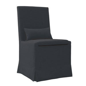 Sandspur Beach Charcoal Gray Dining Chair