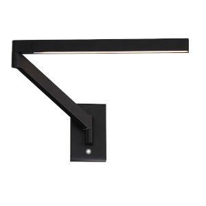 Black LED  Wall Sconce