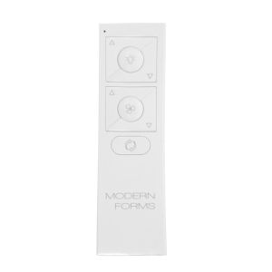 White 5-Inch Wireless RF Remote