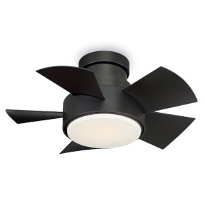 Vox Bronze 26-Inch 3000K LED Flush Mount Ceiling Fans