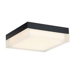 Matrix Black 9-Inch LED Flush Mount