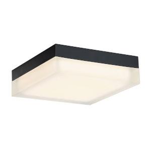 Matrix Black Nine-Inch 3500K LED ADA Outdoor Flush Mount