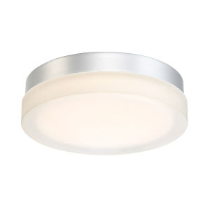 Circa Titanium Nine-Inch 2700K LED ADA Outdoor Flush Mount
