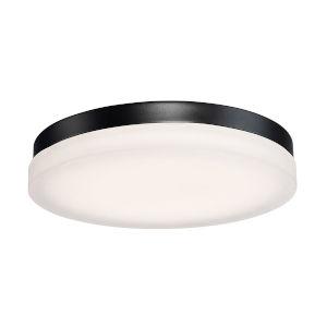 Circa Black 15-Inch 3500K LED ADA Outdoor Flush Mount