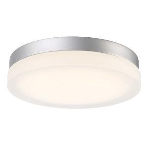 Circa Titanium 15-Inch 3500K LED ADA Outdoor Flush Mount