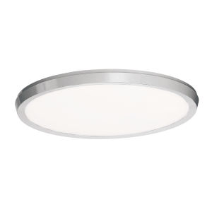 Argo Brushed Nickel 19-Inch LED ADA Flush Mount