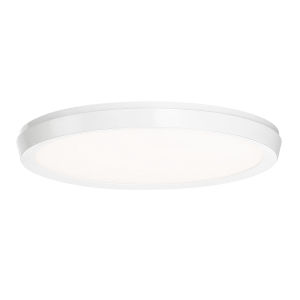 Argo White 19-Inch LED ADA Flush Mount