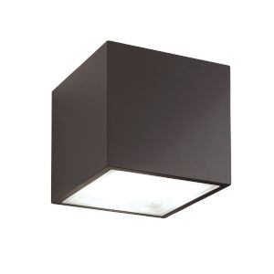 Bloc Bronze LED 4000K Outdoor Flush Mount