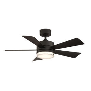 Wynd Matte Black 42-Inch ADA LED Ceiling Fan