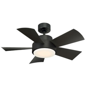 ELF Bronze 38-Inch 3000K LED Downrod Ceiling Fans