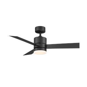 Axis Matte Black 44-Inch ADA LED Ceiling Fan, 2700K