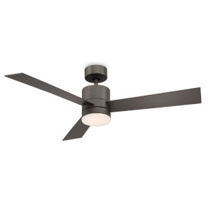 Axis Bronze 52-Inch 3000K LED Downrod Ceiling Fans