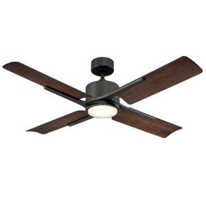 Cervantes Oil Rubbed Bronze 56-Inch 3000K LED Downrod Ceiling Fans