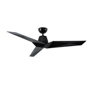 Vortex Gloss Black 60-Inch Downrod Ceiling Fans