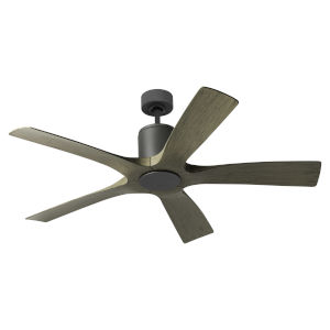 Aviator Graphite and Weathered Gray 54-Inch ADA LED Ceiling Fan
