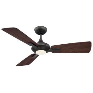 Mykonos Bronze 52-Inch 3000K LED Downrod Ceiling Fans