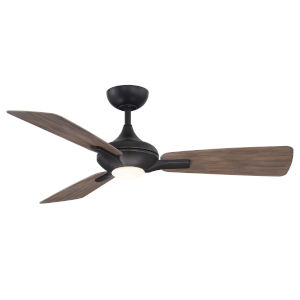 Mykonos Oil Rubbed Bronze and Barn Wood 52-Inch ADA LED Ceiling Fan