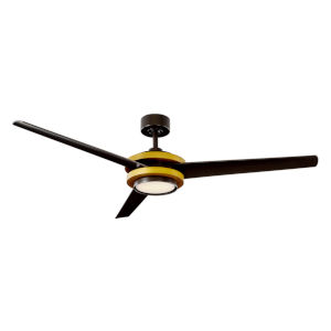 Venus Aged Brass 60-Inch 2700K LED Downrod Ceiling Fans