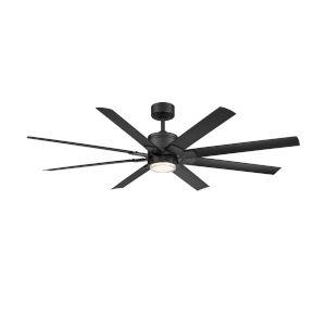 Renegade Matte Black 52-Inch ADA LED Ceiling Fan, 2700K